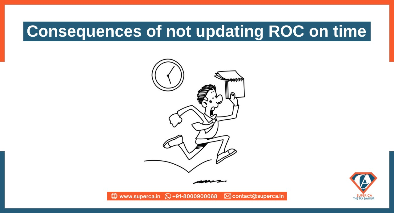 Consequences of not filing ROC on time